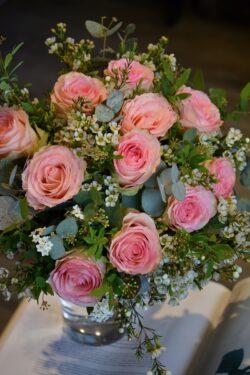 Bouquet de roses Espérance
